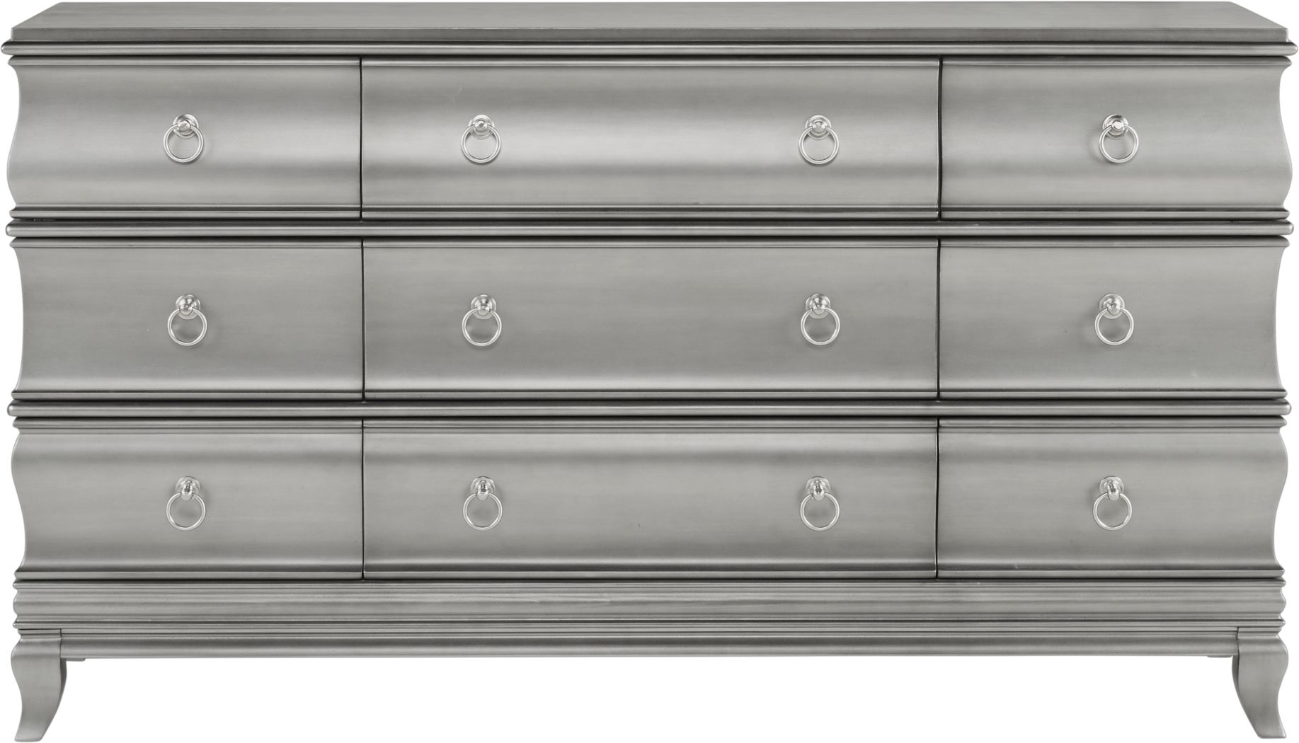 Alexi Silver Dresser