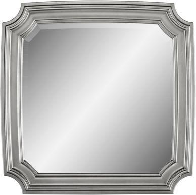 Alexi Silver Mirror