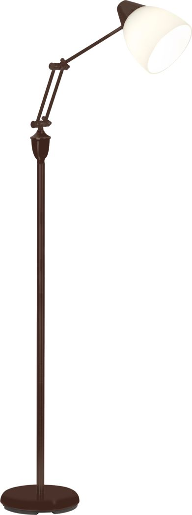 Algin Avenue Brown Floor Lamp