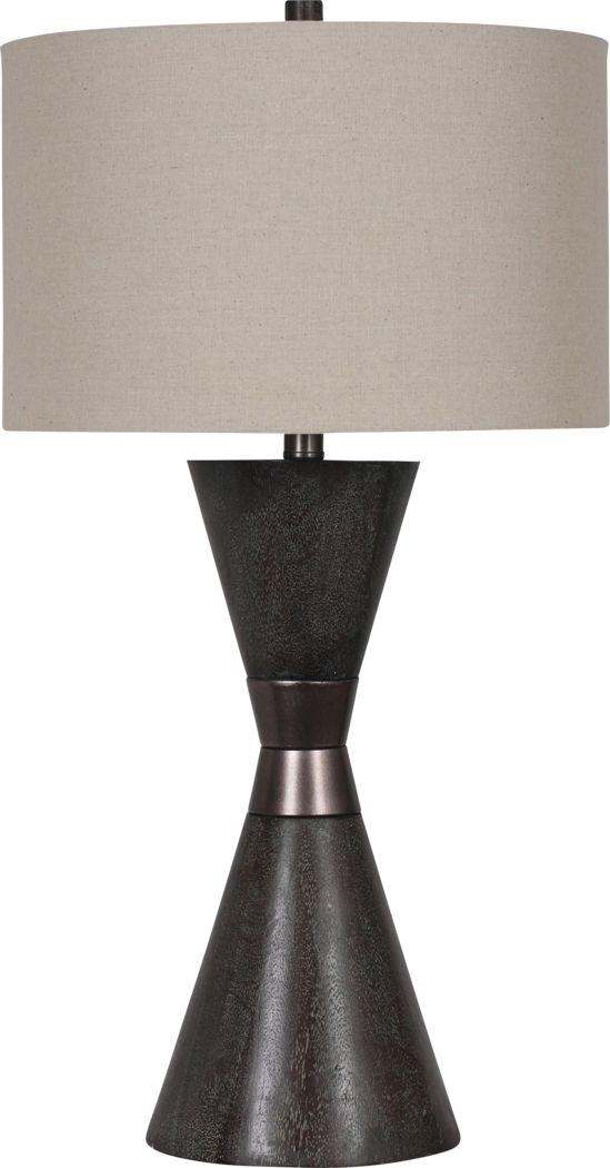 Alida Place Walnut Lamp