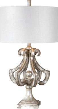 Aliso Canyon Silver Lamp