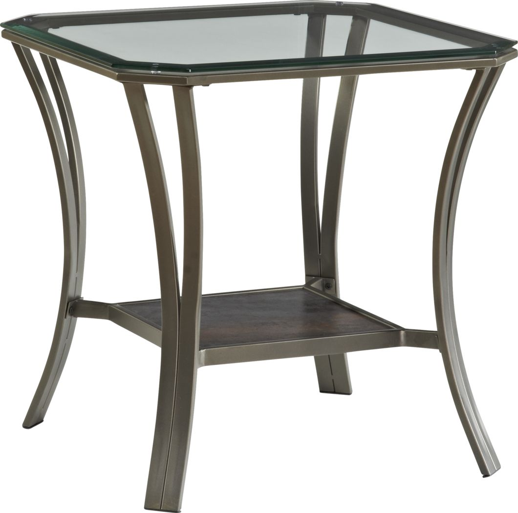 Allie Metal End Table