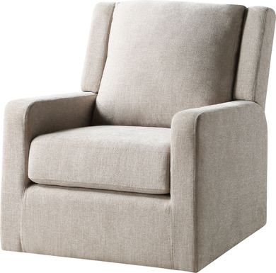 Allister Oatmeal Accent Chair