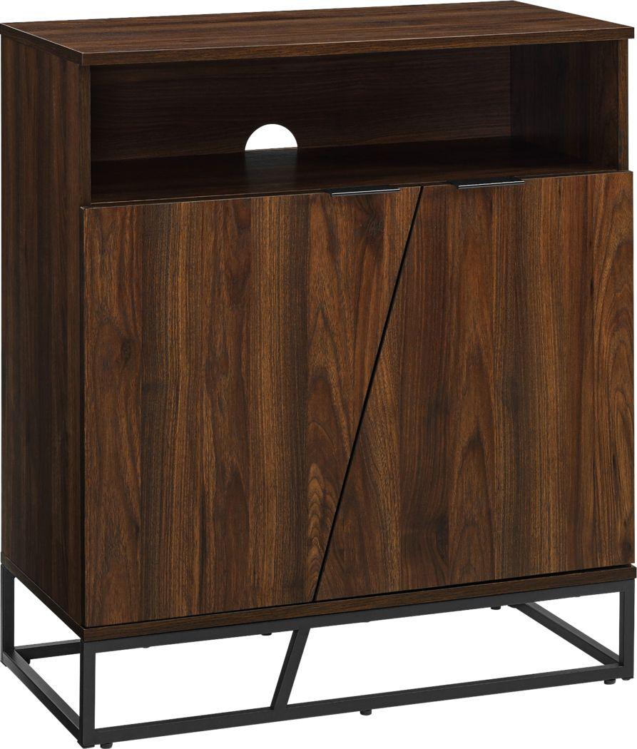 Allwood Walnut Accent Cabinet