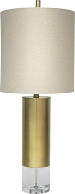 Almina Brass Lamp