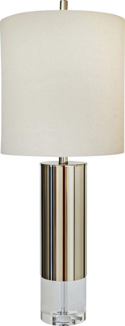 Almina Nickel Lamp