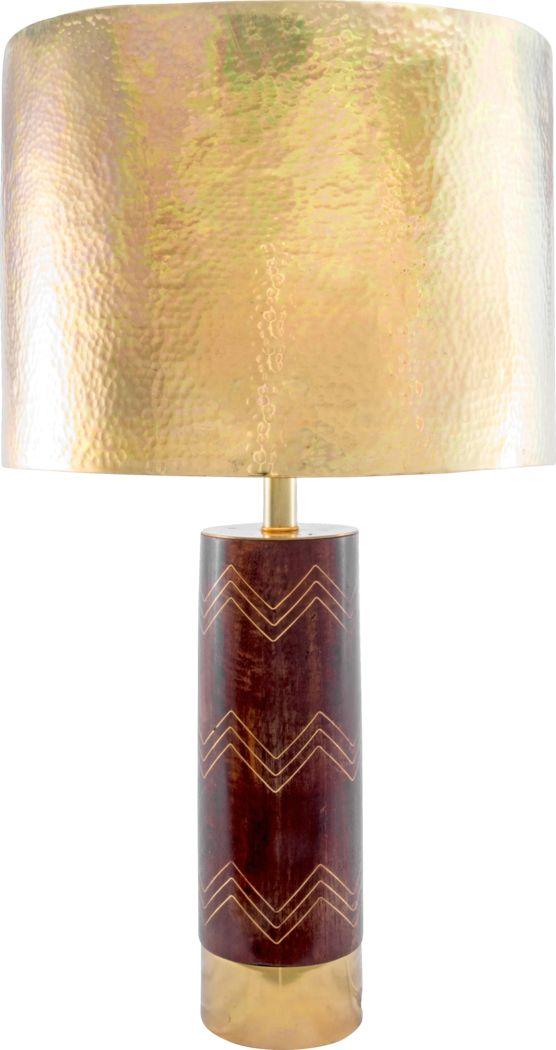 Alnwick Brown Lamp