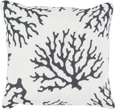 Alohi Black Indoor/Outdoor Accent Pillow