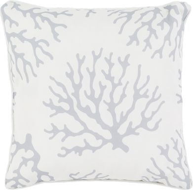 Alohi Gray Indoor/Outdoor Accent Pillow