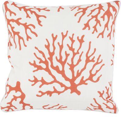 Alohi Orange Indoor/Outdoor Accent Pillow