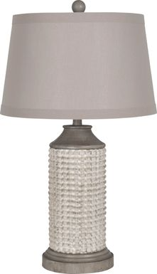 Alondra Lane Gray Lamp, Set of 2