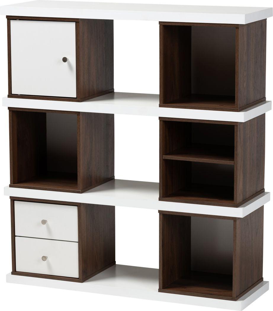 Alpenhorn White Bookcase
