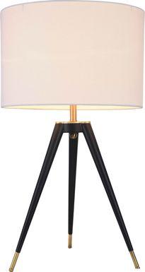 Alpine Crest Brass Lamp