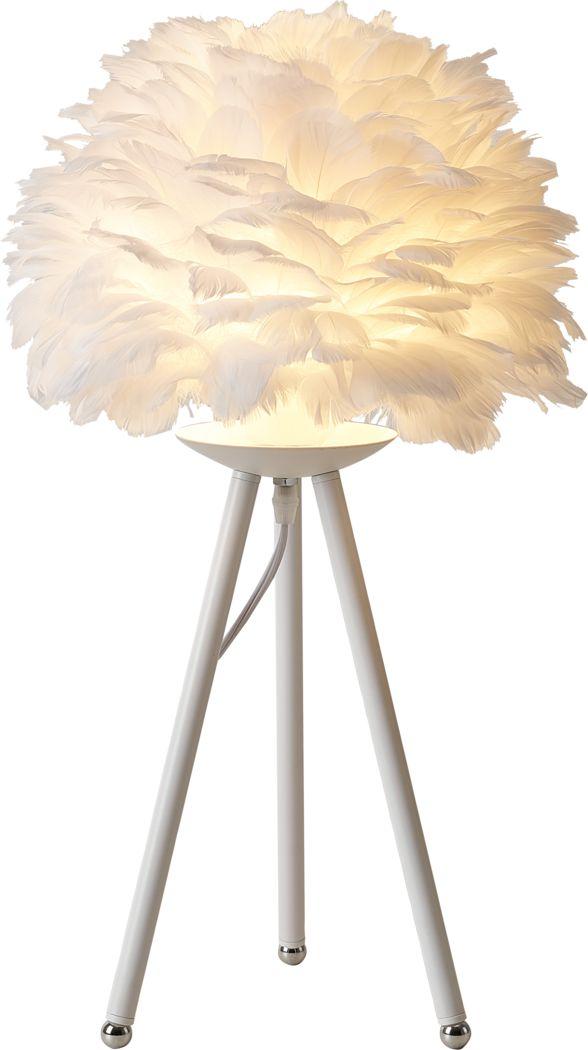 Alpine Flower White Lamp