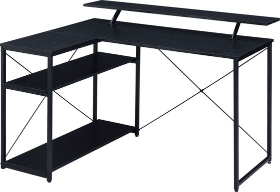 Alpony Black Desk