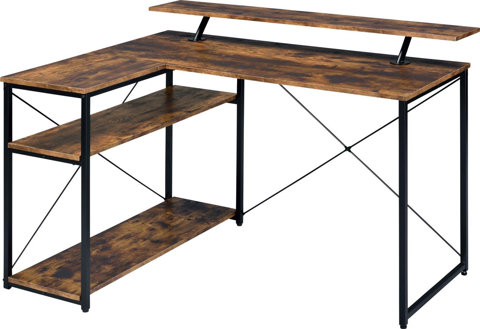 Alpony Brown Desk