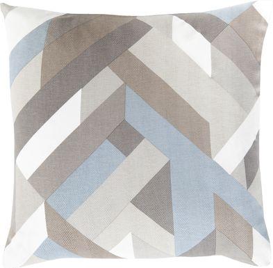 Alrick Gray Accent Pillow