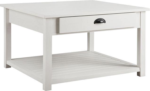 Alsatia White Cocktail Table