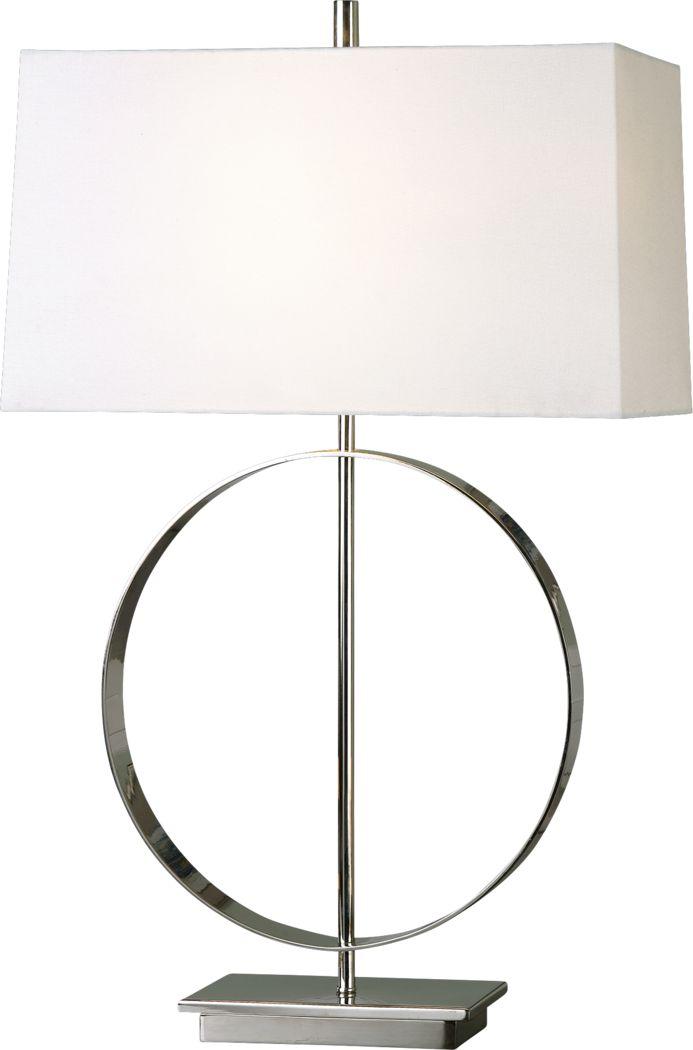Alta Mesa Silver Lamp