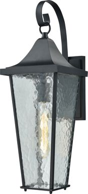 Altentann Black Outdoor Wall Sconce