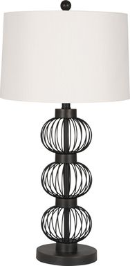 Alteza Place Black Lamp, Set of 2