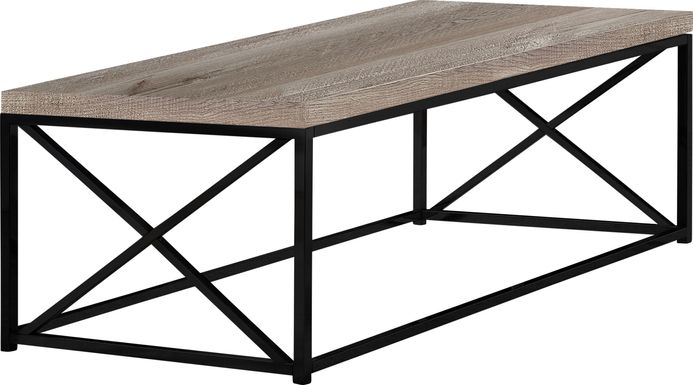 Altondale Taupe Cocktail Table