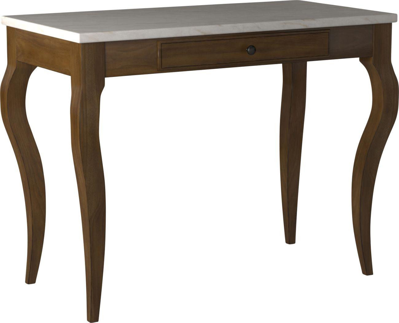 Alvamoor White Desk