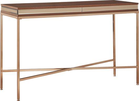 Alvord Gold Sofa Table