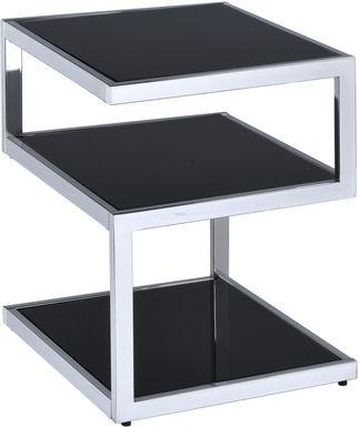 Alyea Black Accent Table