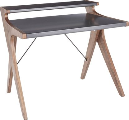 Amasia Gray Desk