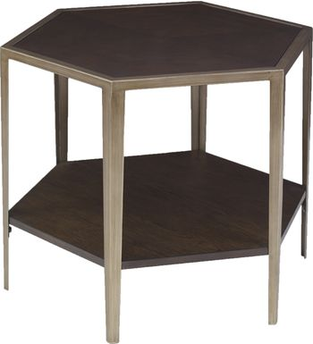 Amberset Brown Accent Table