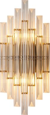 Amblewood Lane Clear Sconce