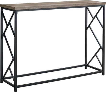 Ambur Taupe Console Table
