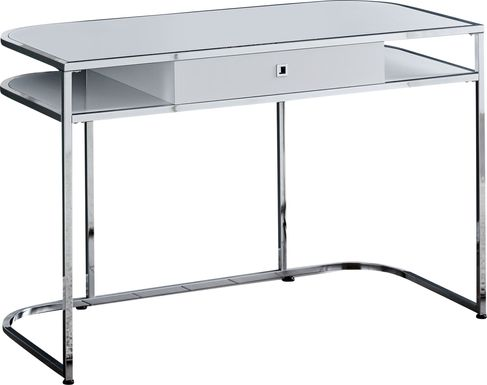 Amce White Desk