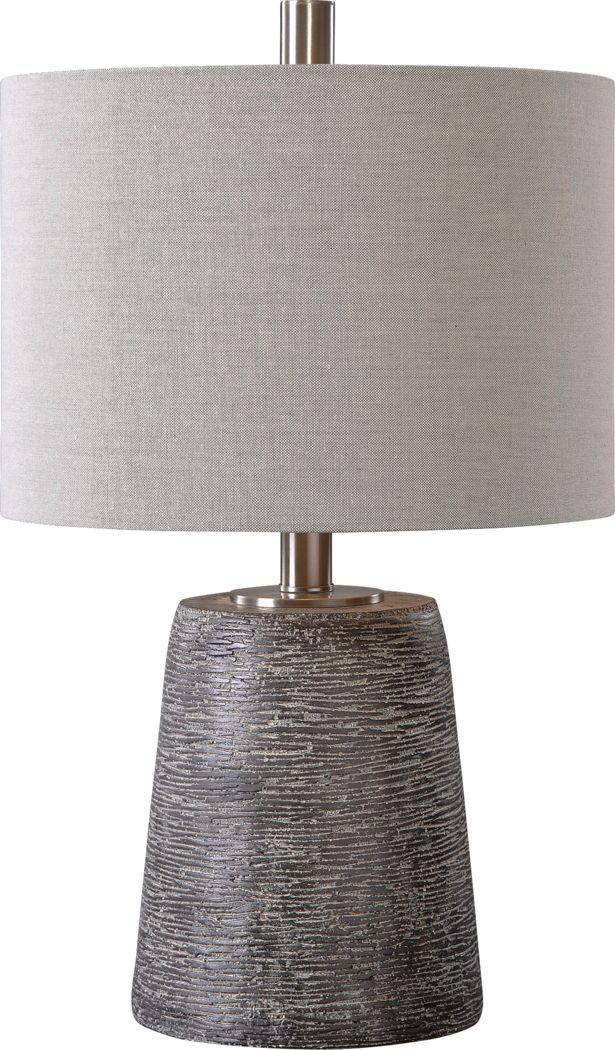 Amdora Gray Lamp