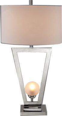 Amenna Silver Table Lamp
