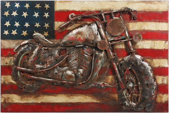 American Rider Wall Decor