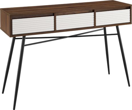 Amesite Walnut Sofa Table