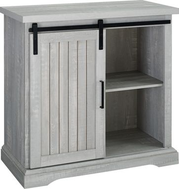 Amesley Cove Gray Accent Cabinet