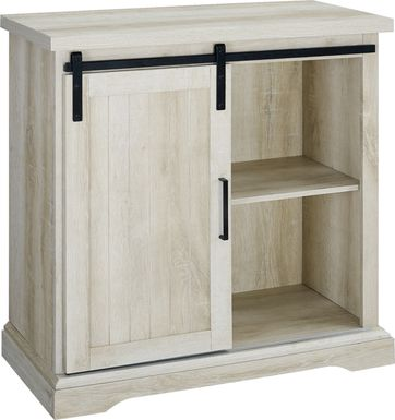 Amesley Cove White Accent Cabinet