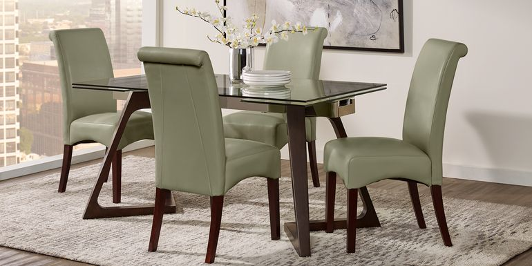 Amhearst Brown 5 Pc Rectangle Dining Set