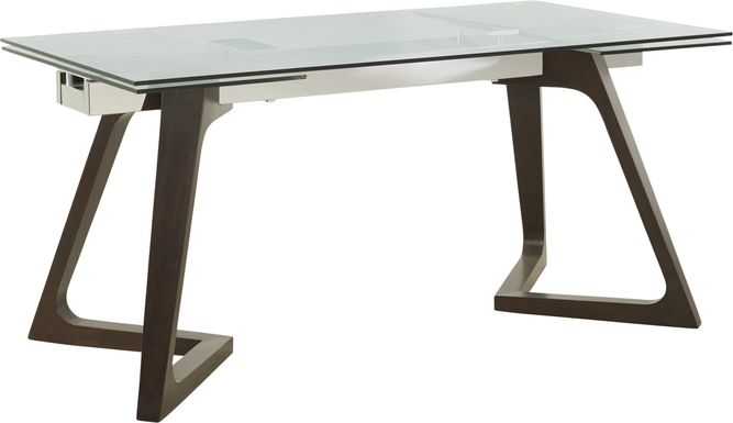 Amhearst Brown Rectangle Dining Table