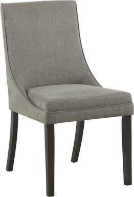 Amhearst Graphite Side Chair