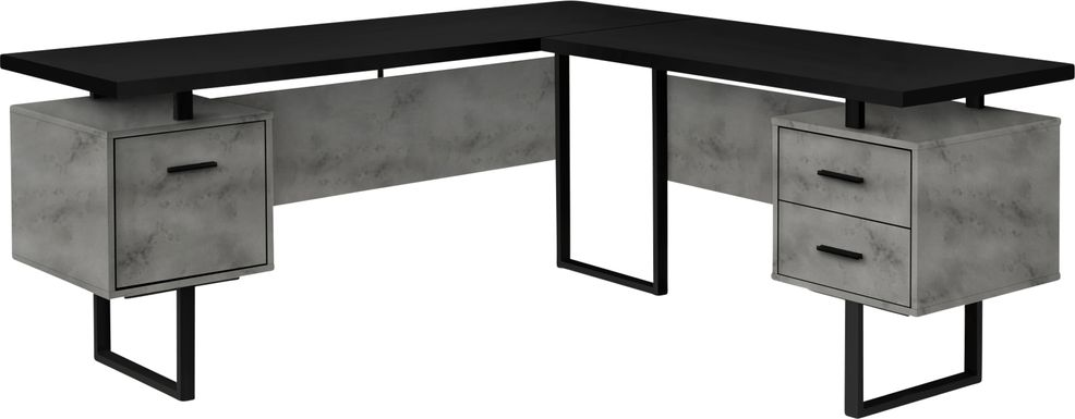 Ammonett Gray Desk