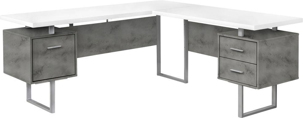 Ammonett Silver Desk
