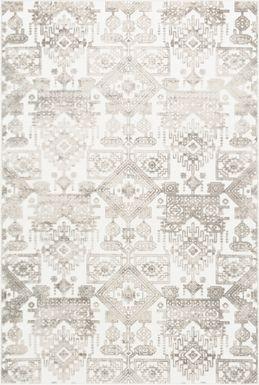 Analise White 6' x 7'9 Rug