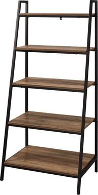 Anarose Brown Bookcase