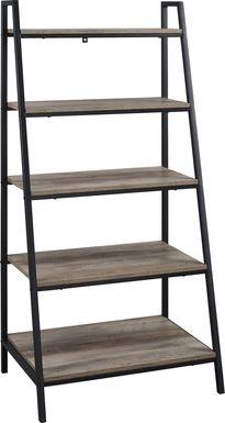 Anarose Gray Bookcase