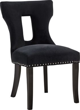 Andalasia Black Side Chair