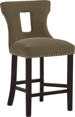 Andalasia Brown Counter Height Stool